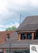 """Clay roof tiles"""